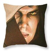 Anakin Skywalker A Powerful Sith Throw Pillow