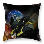 10115 Anakin's Starfighter Throw Pillow