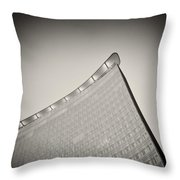 Analog Photography - Berlin Architecture Throw Pillow