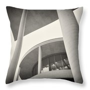 Analog Photography - Berlin Paul-loebe-haus Throw Pillow