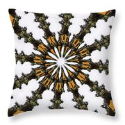 Ananasi Mandala Throw Pillow