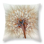 Anatomy Of A Weed High Key  Throw Pillow