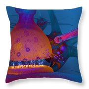 Anatomy Of Concussion Throw Pillow