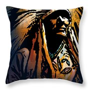 Ancestral Light Throw Pillow
