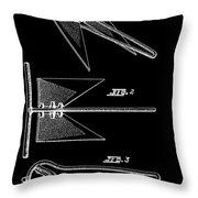 Anchor Patent Throw Pillow