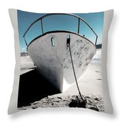 Anchored Ashore Throw Pillow
