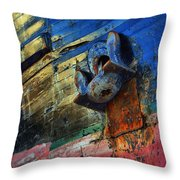 Anchored In Change Throw Pillow