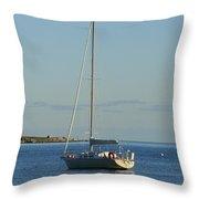 Anchored Throw Pillow
