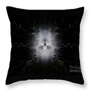 Ancient Ancestor Throw Pillow by Peter R Nicholls
