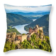 Ancient Austria Throw Pillow
