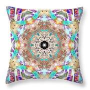 Ancient Awareness Throw Pillow