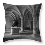 Ancient Cloisters. Throw Pillow