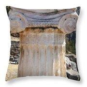 Ancient Delphi 12 Throw Pillow