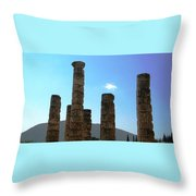 Ancient Delphi 16 Throw Pillow