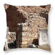 Ancient Delphi 3 Throw Pillow
