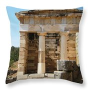 Ancient Delphi 6 Throw Pillow