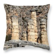 Ancient Delphi 8 Throw Pillow