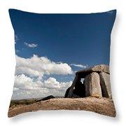 Ancient Dolmen Throw Pillow