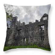 Ancient Donegal Castle Throw Pillow