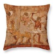 Ancient Egyptian Art Throw Pillow
