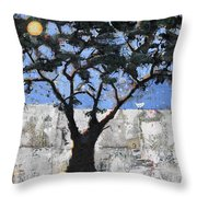 Ancient Egyptian Tree Of Life Throw Pillow