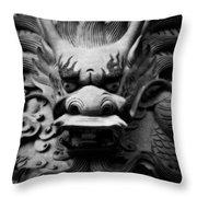 Ancient Guardian Throw Pillow