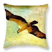 Ancient Hunter Throw Pillow