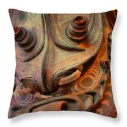 Ancient Indian Artifact Throw Pillow