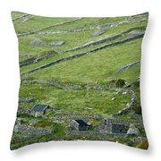Ancient Ireland Throw Pillow