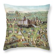 Ancient Jerusalem Throw Pillow