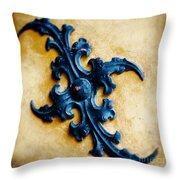 Ancient Motif Throw Pillow
