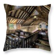Ancient Pagan Chapel Throw Pillow