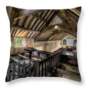 Ancient Pagan Chapel Throw Pillow