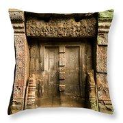 Ancient Portal Throw Pillow