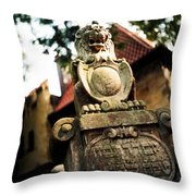 Ancient Protector Throw Pillow