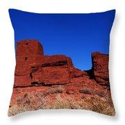 Ancient Pueblo Throw Pillow
