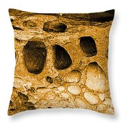 Ancient Rock In Canyonlands 2 Throw Pillow