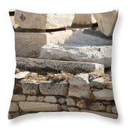 Ancient Rock Throw Pillow