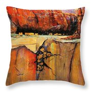 Ancient Ruins Throw Pillow