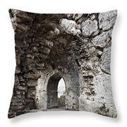 Ancient Side Byzantine Hospital Throw Pillow