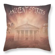 Ancient Spirits Throw Pillow