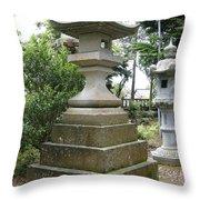 Ancient Stones Throw Pillow
