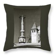 Ancient Turkey Throw Pillow