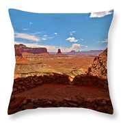 Ancient Viewpoint Throw Pillow