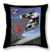 And ? Throw Pillow