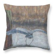 And A One And A Two Throw Pillow by Beth Sawickie