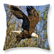 And He Is Off Throw Pillow
