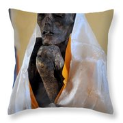 And He Is Still Alive Throw Pillow
