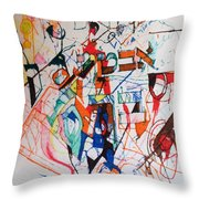 and I trust in You Throw Pillow