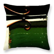 And It Never Stops Throw Pillow